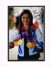Sarah Storey Autograph Signed Photo - Cycling